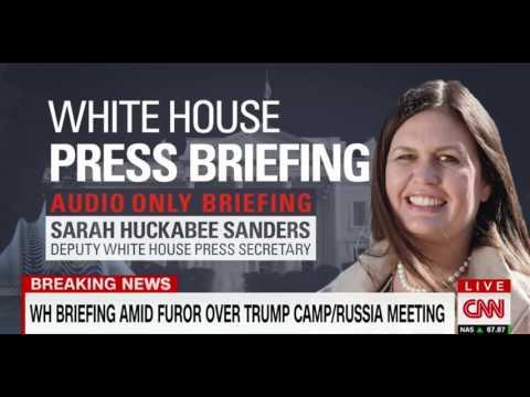 Sarah Huckabee Sanders Responds to Democrat Articles of Impeachment Against Trump