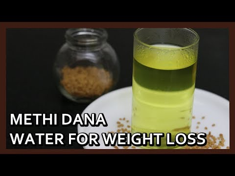 Fenugreek Seeds Water - Best Weight Loss Drink in Winters   Easy Weight Loss Recipe by Healthy Kadai