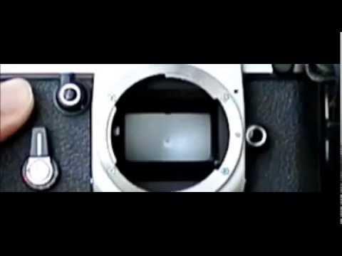 ニコンF2シャッター&ミラー動作 Nikon F2 Shutter&Mirror Slow Motion