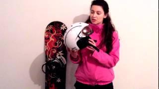 Обзор горнолыжных шлемов с визором - Шлем Casco SP 6 - обзор