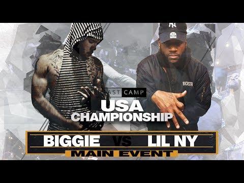 Lil NY vs Biggie | The Beast Camp USA Championship