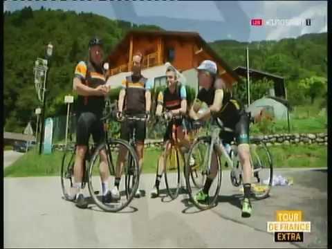 Greg LeMond Fans on Eurosport