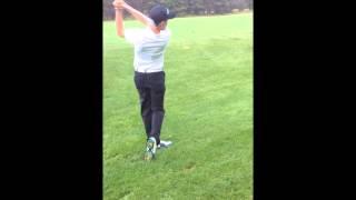 Brandon Timperio- Golfing at Banff Springs
