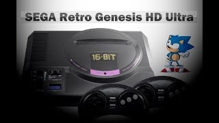 ✅ Обзор SEGA Retro Genesis HD Ultra (150 встроенных игр)