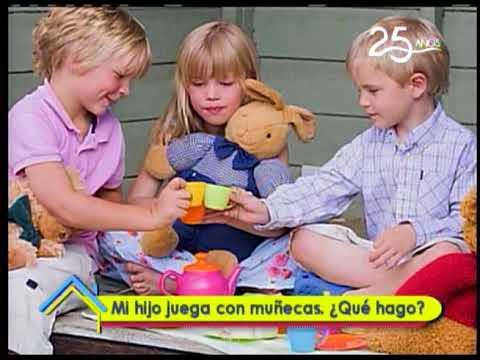 Mi hijo con muñecas ¿Qué hago?