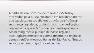 Motoboy em Alphaville - Logville (11) 4195-9594
