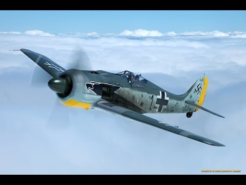 War Thunder - Airfield Defence by Fw 190 A-1