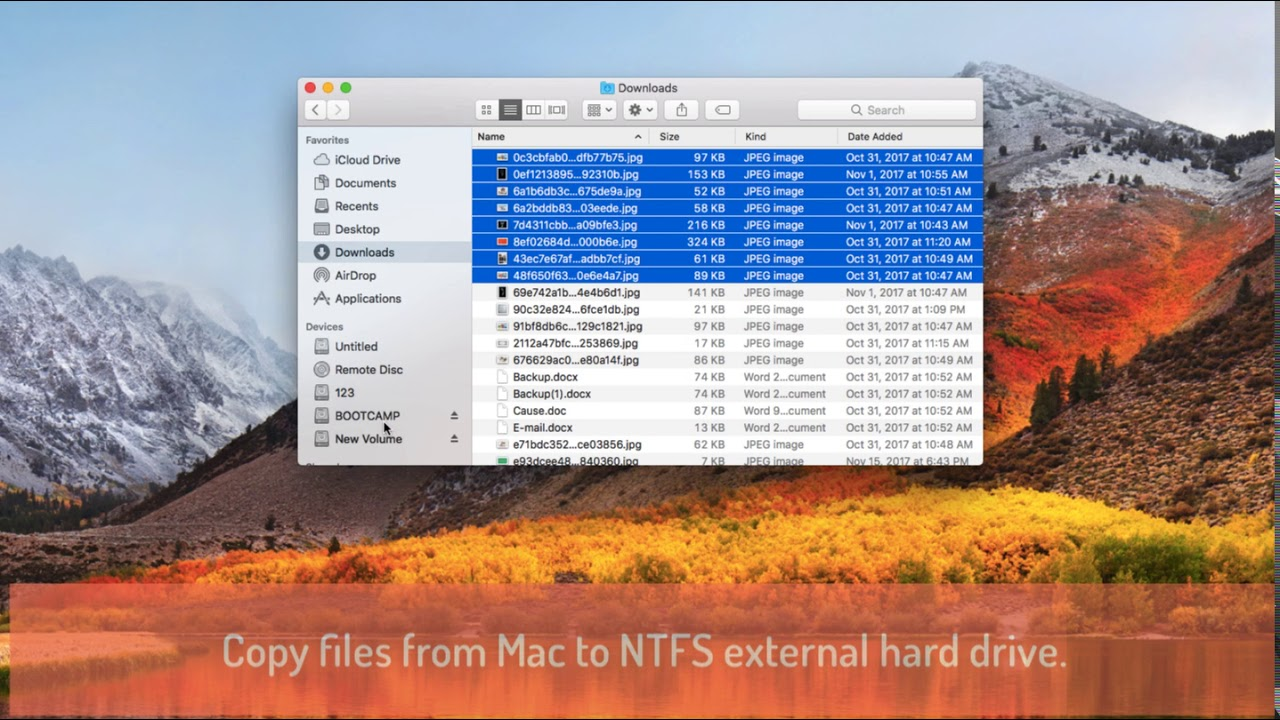 how to change read only external hard drive