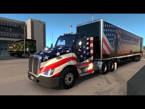 American Truck Simulator Albuquerque NM to Gallup NM