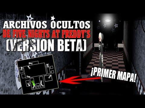 Five Nights At Freddy's 1 (Versión Beta)   Archivos Ocultos   Fnaf 1
