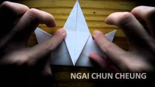 Origami Tweeting Crow (tutorial)