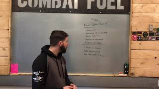 Barbell Workout - Fight Gone Bad
