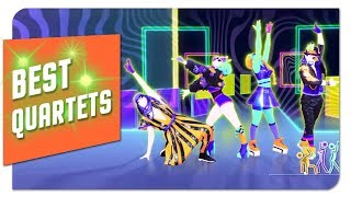 Download Just Dance: Top 10 Best QUARTETS on Just dance Mp3 and Videos