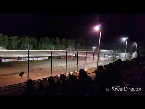 Mini Stock Heat #3 Hilltop Speedway May 31st 2019