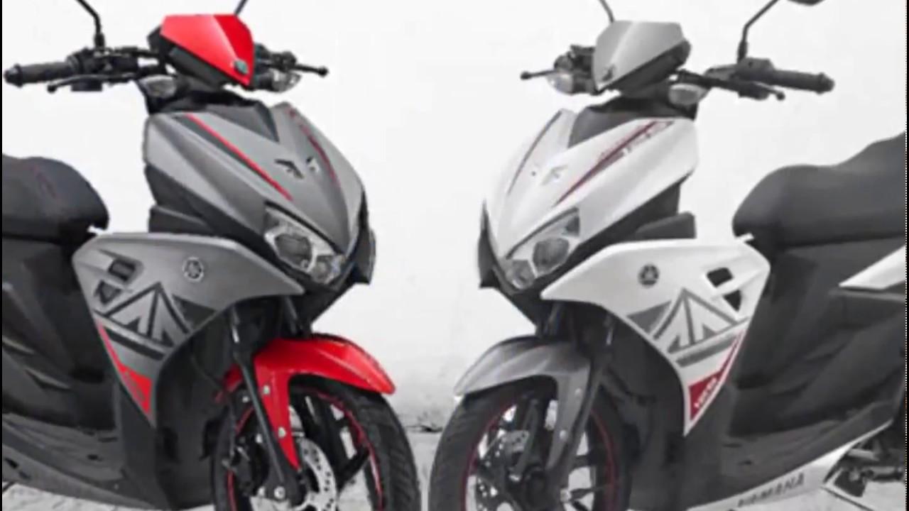 Motor Yamaha Aerox 125 LC Terbaru Januari 2018