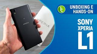 Sony Xperia L1: unboxing e primeiras impressões | TudoCelular.com
