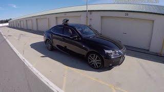 2015 Lexus IS 300h F Sport track test (POV) & 0-100km/h
