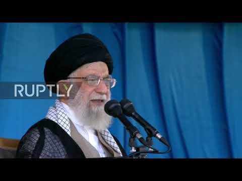 Iran: Iran 'will slap the US once again' by defeating sanctions - Khamenei