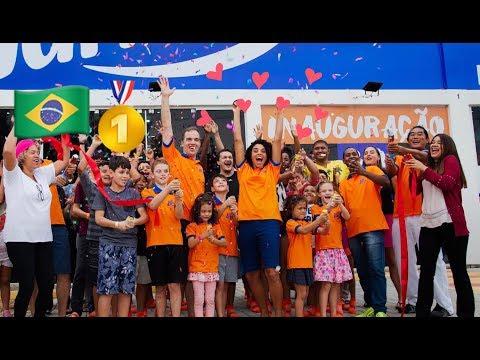 American Trampoline Park in Brazil – Grand Opening