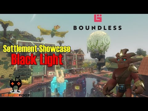 Settlement Showcase EP2 - Black Light | Boundless Let's Play Gameplay PC