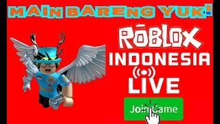 'VE MISSED THE JAILBREAK UPDATE:( LIVE STREAM!! | ROBLOX INDONESIA