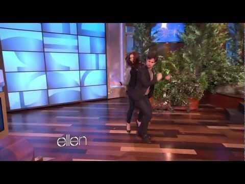 Ashley Greene and Jackson Rathbone dance [HD]