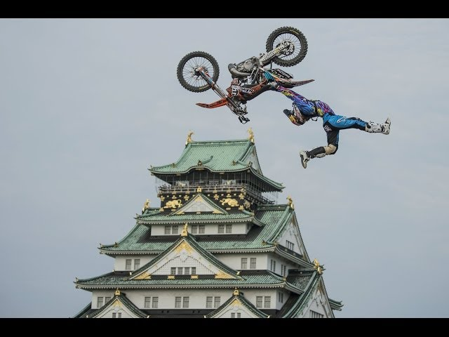 Best Tricks from Red Bull X-Fighters 2014 in Osaka