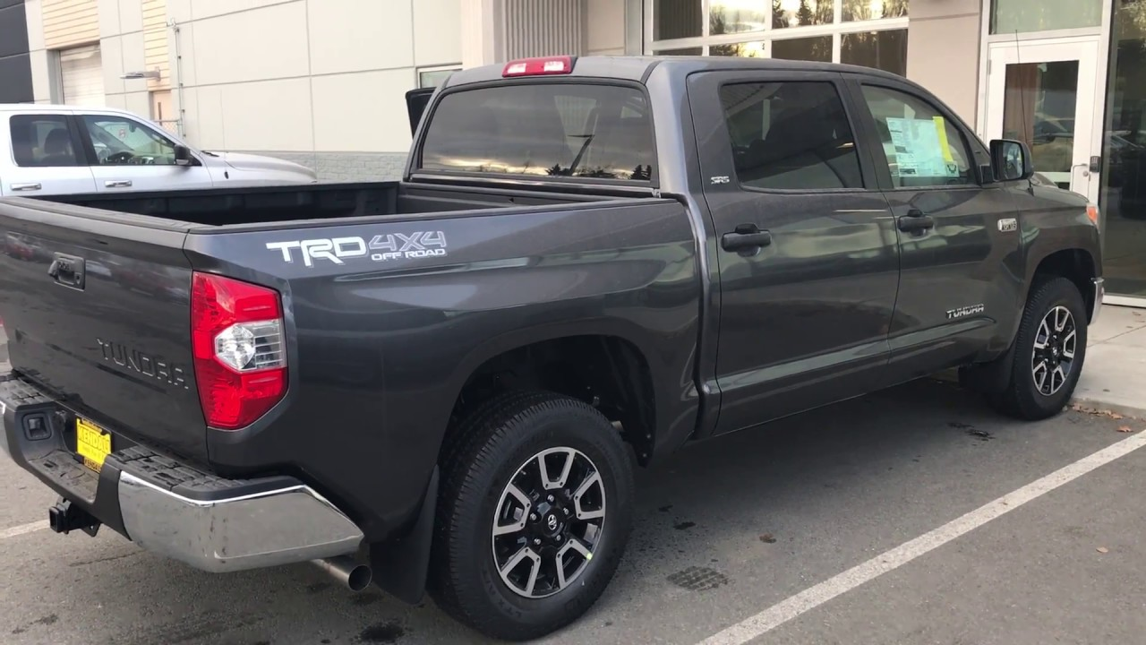 2017 toyota tundra sr5 with trd off road package youtube. Black Bedroom Furniture Sets. Home Design Ideas