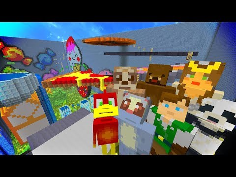 Minecraft Xbox Hide and Seek : FUNNY FOOD
