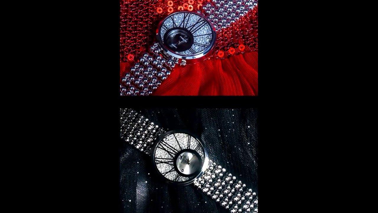 Часы от компании Oriflame с кристаллами Swarovski - YouTube