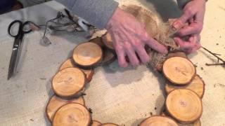 How To Make A Wood Christmas Wreath