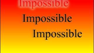 Shontelle Impossible Karaoke/Instrumental