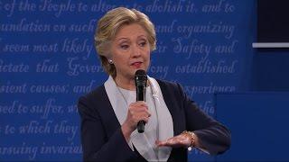 هيلاري كلينتون: لن أستعمل القوى البرية الأمريكية في سوريا