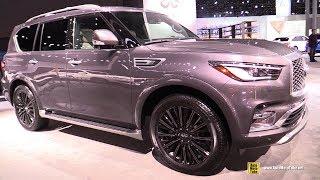 2019 Infiniti QX80 Limited - Exterior and Interior Walkaround - 2019 NY Auto Show