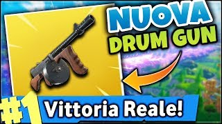 NEW DRUM GUN ASSALTO FUCILE on FORTNITE ITA! WEEK MISSIONS - ROYAL VICTORY