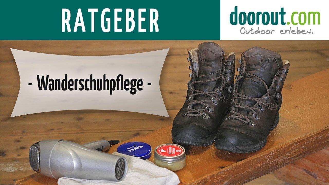 Wanderschuhpflege Wanderschuhe Pflege&Tipps in 3.Schritten