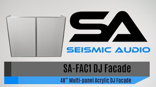 Seismic Audio SA-FAC1 DJ Facade (Official)