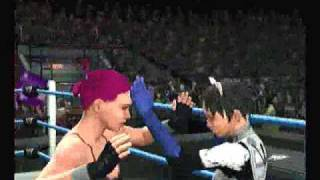 SvR2007 Mizuho Kazami vs Shinji Ikari
