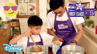 First Class Chefs: Family Style | Smart 'n' Spicy vs Freiburg Foodies | Official Disney Channel UK