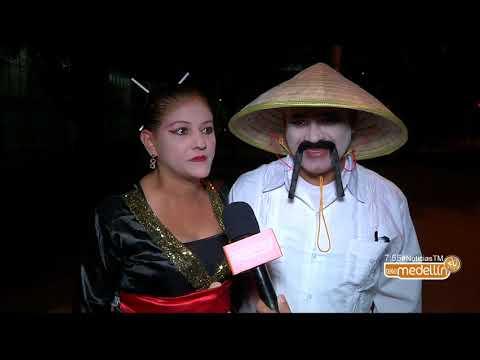 Santiago Ramírez entrevista a una pareja de Chinos [Noticias] - Telemedellín