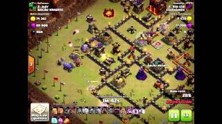 TH10 ATTACK - QW + Coldblooded Laloon [Jugador: Sir Cid] Clash of Clans