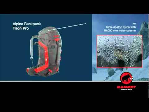 3db70db98c Mammut - Trion Pro. Alpine Backpack - YouTube