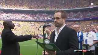 FA Cup Fans Choir and Alfie Boe sing Abide with Me