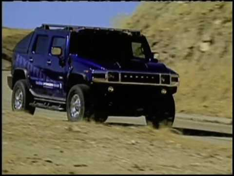 Arnold Shwarzenegger Tests GM Hydrogen Powered Hummer