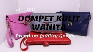Dompet Kulit Asli Untuk Wanita - Dompet Kulit Original FDMERAH004