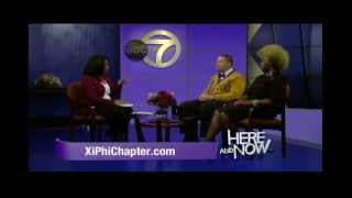 NYC Omega Black College Tour Interview - Here and Now (WABC) - 11.10.2013