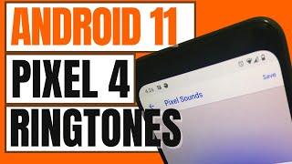 Google Pixel 4 Stock Ringtones After Android 11 Update | Pixel Sounds