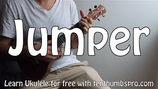 Jumper - Third Eye Blind - Easy Beginner Ukulele Son Tutorial wPlay-a-long