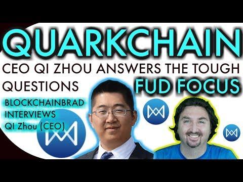 Quarkchain Exclusive Update | Quarkchain CEO | BlockchainBrad Interview | Crypto News