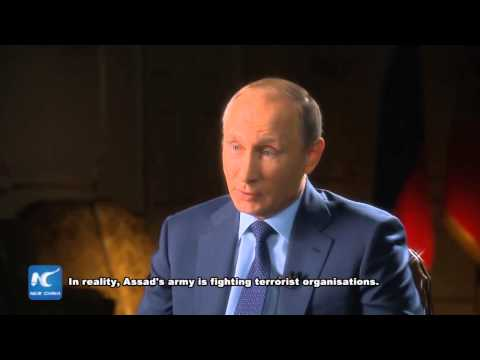 RAW: Putin: Assad's troops are only legal army fighting terrorism in Syria